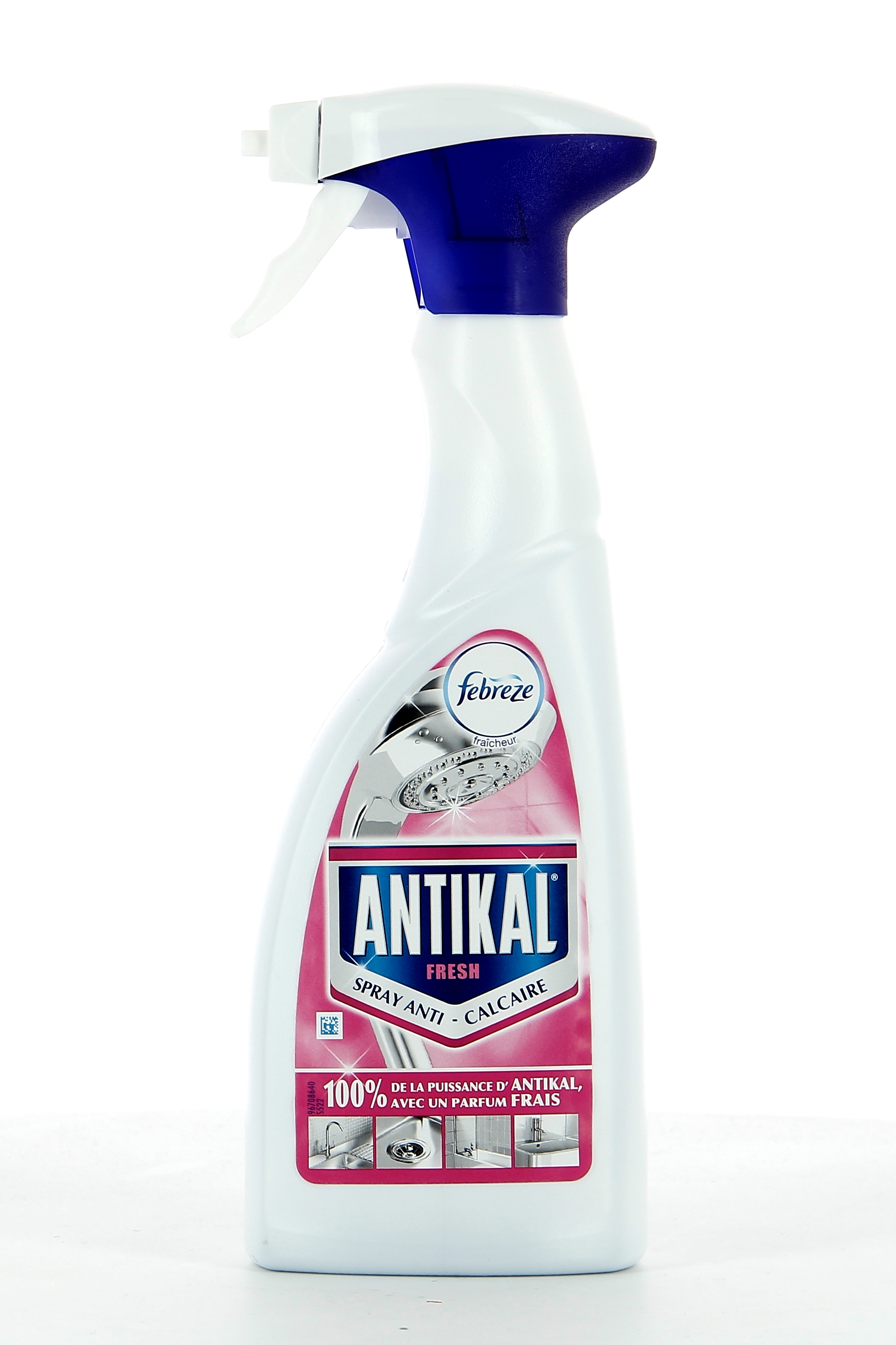 Antikal Spray Anti Calcaire 500ml Febreze Fresh Wc Salle De Bain