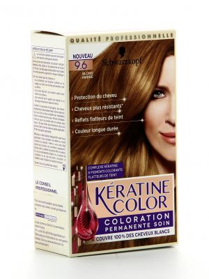 Kératine Color Coloration - 9.6 Blond Ambré
