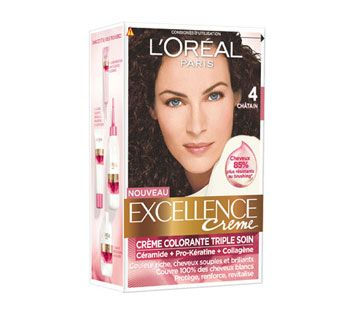 Excellence coloration n°4 chatain