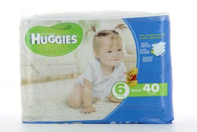 Huggies Couches Taille 6 Junior 16-30 Kg X 40