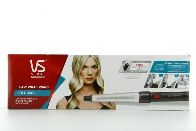 Vidal Sassoon Fer à Boucler Soft Wave Ondulation Souple