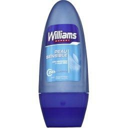 William déodorant roll on 50ml peau sensible