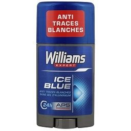 WILLIAMS Stick Ice Blue Anti Traces Blanches