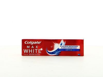 Colgate Dentifrice 75Ml Max White Optic Blancheur Instantanée