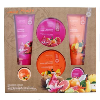 Grace Cole & Co Juicy Fruits Works Coffret