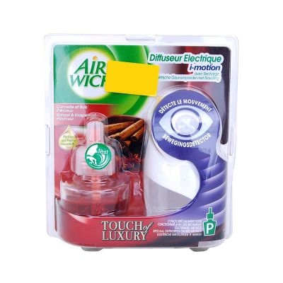 Air Wick Freshmatic I-Motion + Recharge Touch Of Luxury Cannelle & Bois Précieux