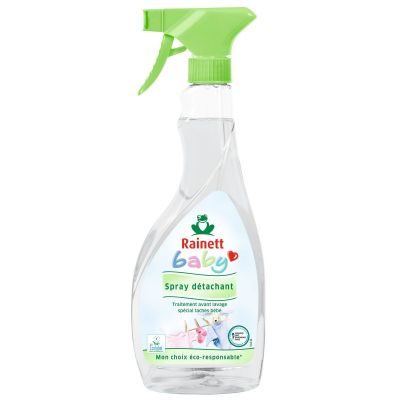 Pack de 8 Rainett Baby Détachant Ecolabel - spray 500 ml