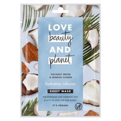 Love Beauty And Planet Masque tissu Infusion Hydratante x1