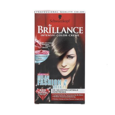 Brillance coloration 880 brun fonce
