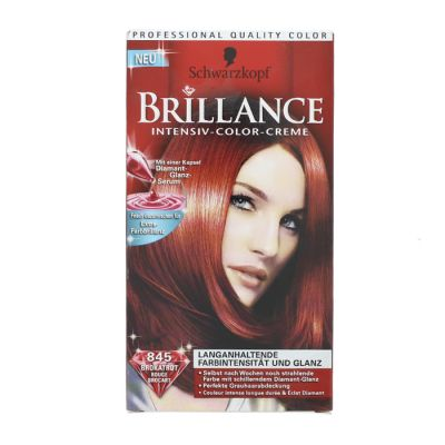 Brillance coloration 845 rouge brocart