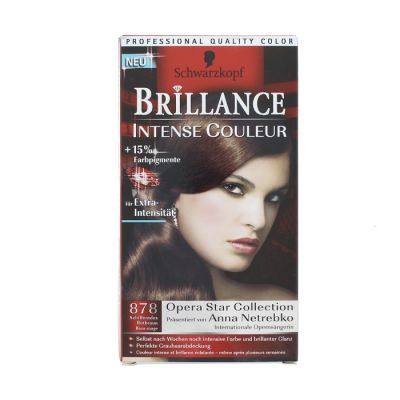 Brillance coloration 878 brun rouge