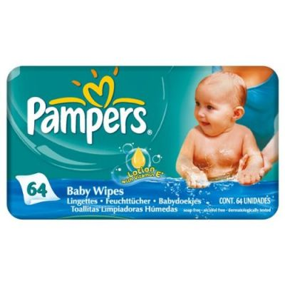 Pampers Baby Fresh 64 Lingettes