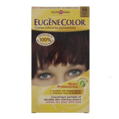 Eugene color coloration n° 56 chatain clair auburn