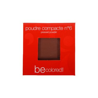 Be Colored Paris Poudre Compacte N°6