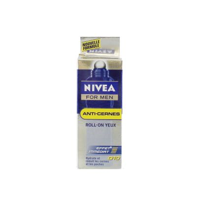 Nivea For Men Anti-Cernes Q10 Roll-On Yeux 10ML