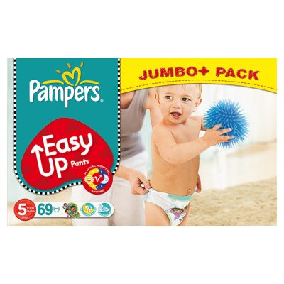 Pampers Couches Easy Up Pants Taille 5 - 69 Couches
