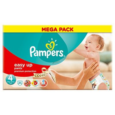 Pampers Couches Easy Up Pants Taille 4 - 84 Couches