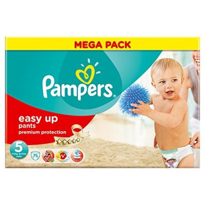 Pampers Couches Easy Up Pants Taille 5 - 75 Couches