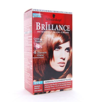 Brillance Coloration 854 Brun Bronze Color Protect & Diamant