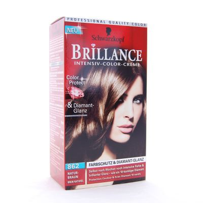 Brillance Coloration 862 Brun Naturel Color Protect & Diamant