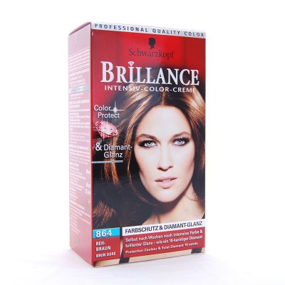 Brillance Coloration 864 Brun Dore Color Protect Diamant