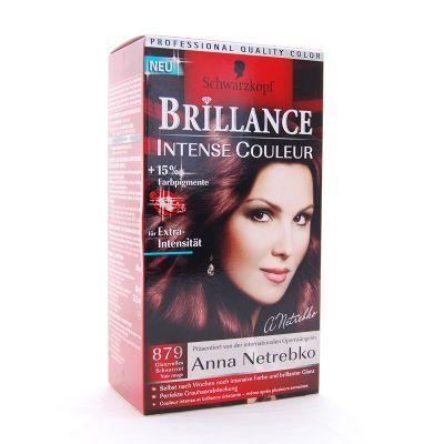 Brillance Coloration 879 Noir Rouge Intense Couleur