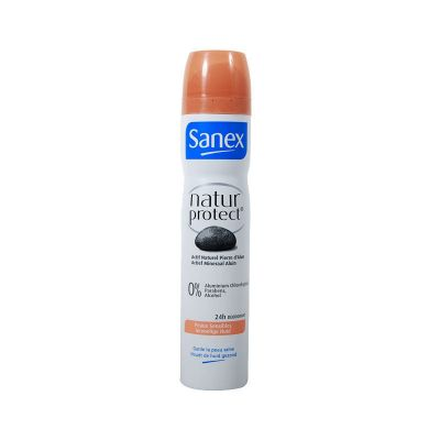 Sanex Natur Protect Déodorant Spray Peaux Sensibles 200Ml