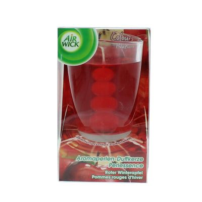 Air wick bougie perlessence pommes rouges d'hiver