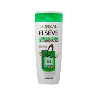 Elseve shampooing 250 ml cheveux normaux 2 en 1