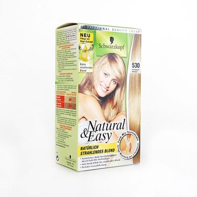 Natural & Easy De Schwarzkopf N°530 Blond Clair Champagne