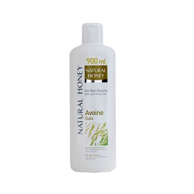 Naturel Honey Avoine Gel Bain Douche 900ML