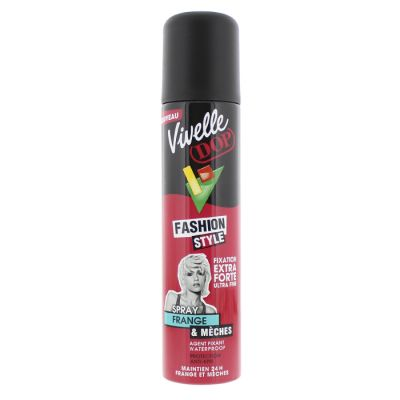 Vivelle dop spray coiffant frange et mèches 250ml fixation extra forte