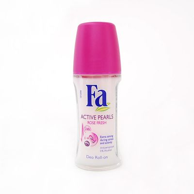 Fa Active Pearls Rose Fresh Déodorant Roll-On 50ML