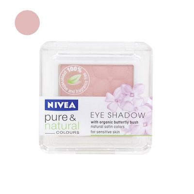 Nivea Pure & Natural Colours Fard A Paupières N°13 Vintage Rose