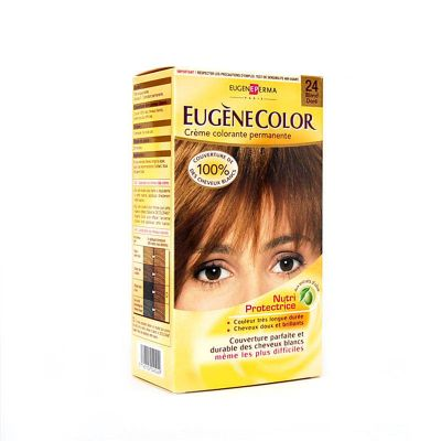 Eugene Color Perma Crème Colorante NutriProtectrice N°24 Blond Doré