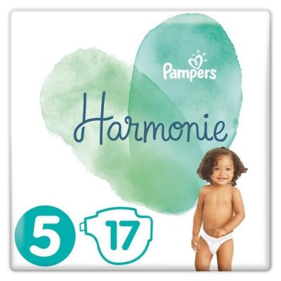 Pampers Couches Harmonie Taille 5 - 17 Couches