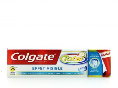 Dentifrice Colgate Total 75 Ml Effet Visible
