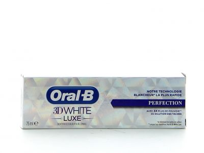 Oral B Dentifrice 75 Ml 3D White Luxe Perfection