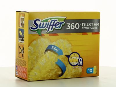 Swiffer 360° Duster Recharges Pour Plumeau X 10