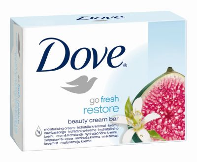 Dove Go Fresh Restore Beauty Cream Bar - Pack de 2 savons de 100g