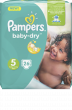 Pampers Couches Baby Dry Taille 5 - 26 Couches