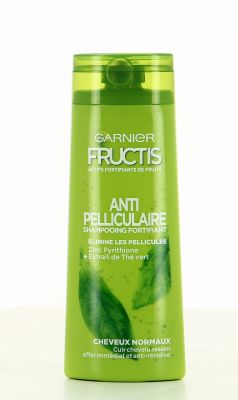 Fructis Shampooing 250 Ml Anti Pelliculaire Cheveux Normaux