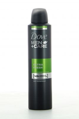 Dove Men Care Déodorant Spray 250 Ml Extra Fresh