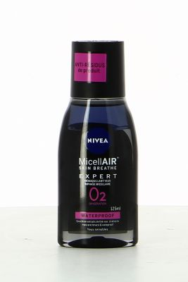 Nivea MicellAIR Démaquillant yeux Biphase Micellaire 125 ml Waterproof yeux sensibles