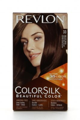 Revlon Colorsilk Coloration 33 Chatain Fonce Délicat