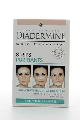 Diadermine Strips Purifiants X 6 Peaux Normales