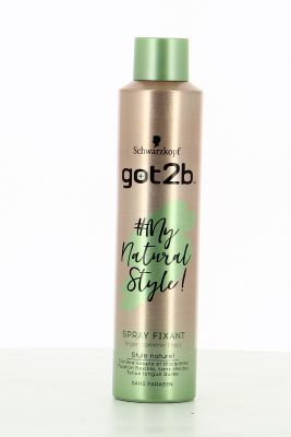 Got2B Spray Fixant #My Natural Style ! 300 Ml Léger comme l'Hair
