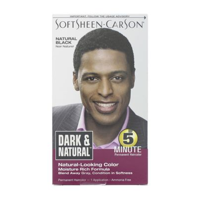 Dark & natural coloration noir naturel
