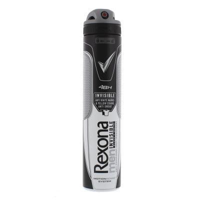 REXONA DEO SPRAY 200ML MEN INVISIBLE BLACK AND WHITE