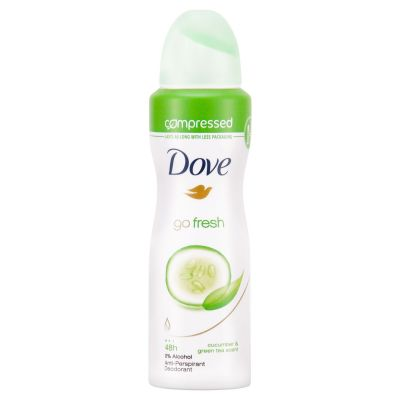 Dove déodorant spray 100ml Go Fresh Compressé
